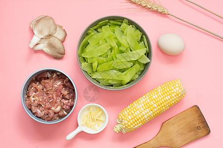创意蔬菜食材图片