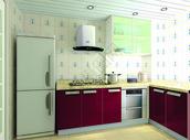 色彩鲜艳的厨房效果图图片