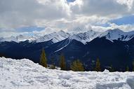 加拿大班夫国家公园sulphur mountain图片