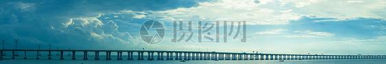 高速公路跨海大桥图片