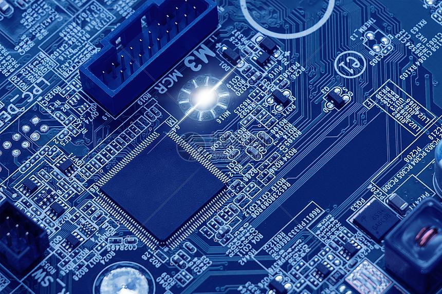芯片电子电路板科技