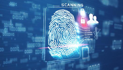 指纹扫描图片