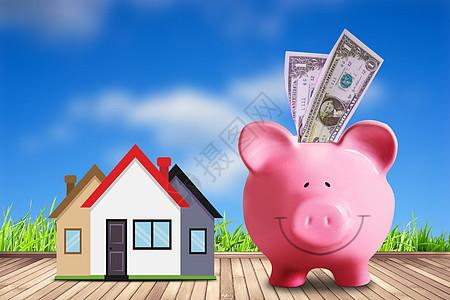 储蓄理财投资图片