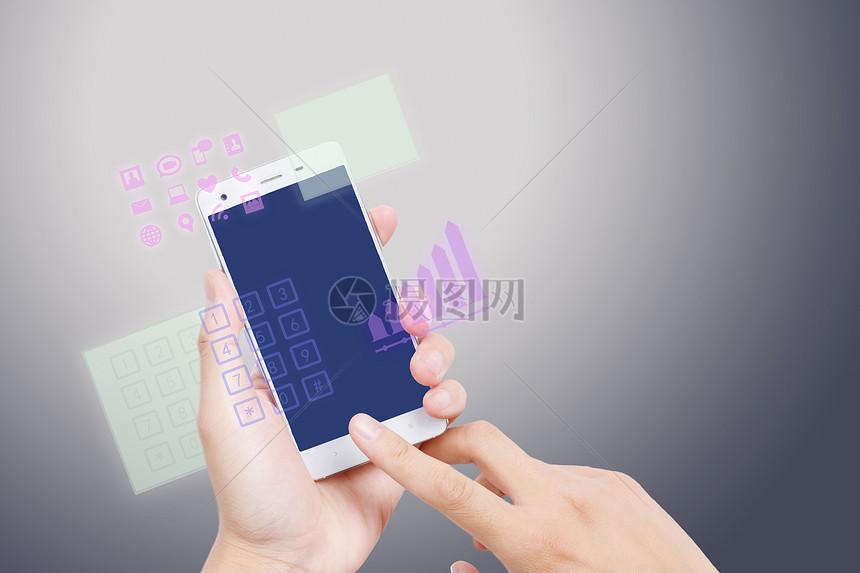 手点击手机图片素材_免费下载_jpg图片格式_vrf高清