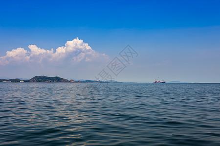 美丽的深圳大海图片