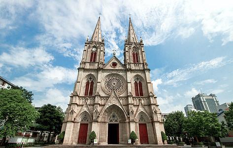 广州石室圣心大教堂图片