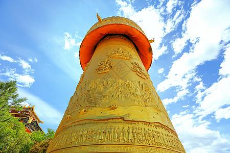 藏族建筑图片