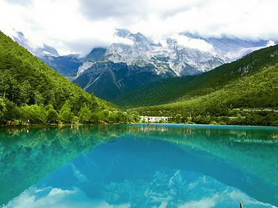玉龙雪山风光美景图片