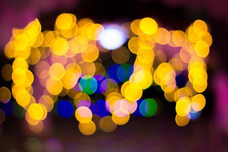 五彩斑斓光斑图片