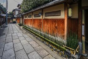 日本京都小巷图片
