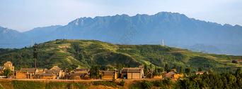白鹿原全景图片