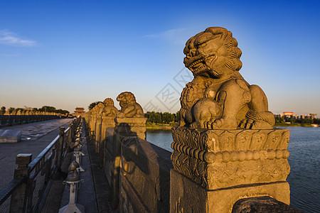 卢沟桥东方雄狮历史的见证者图片