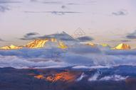 晨曦中的珠穆朗玛峰图片