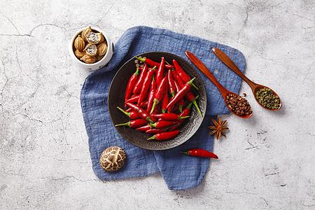 辣椒花椒调料图片