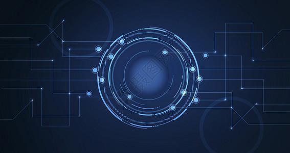 科技展板背景图片