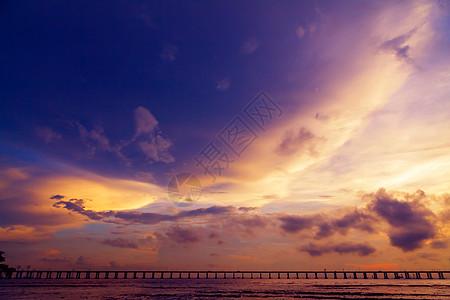 科幻色彩的云层素材图片