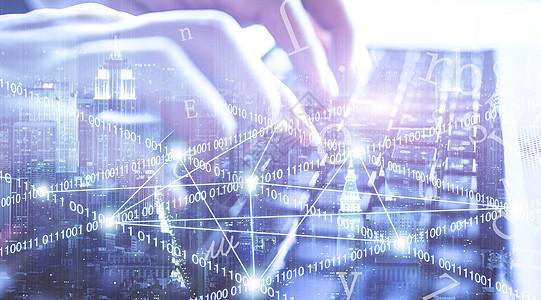 键盘上的数据图片