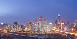 国贸cbd全景图片