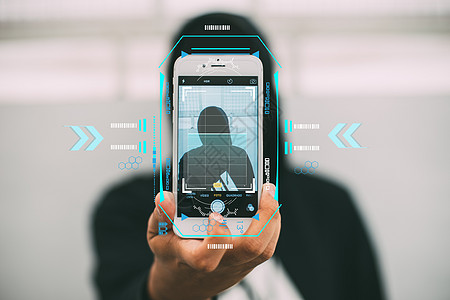 手机人脸识别图片