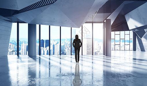 面向未来的办公场景图片