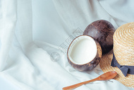 自制甜品椰奶冻图片