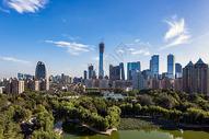 北京国贸CBD全景图片