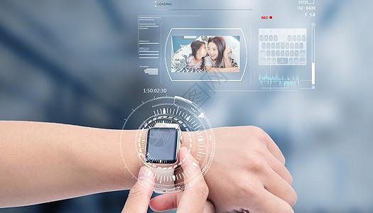 全息时钟未来技术图片