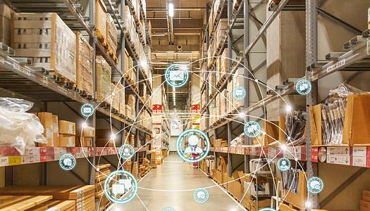 全球货物仓储图片