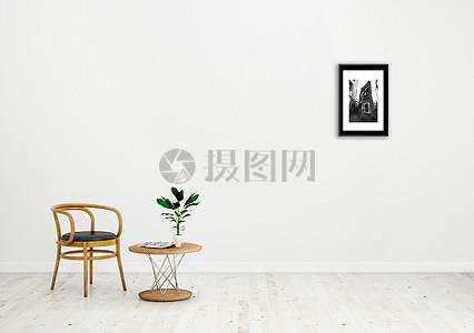 极简室内家居背景图片