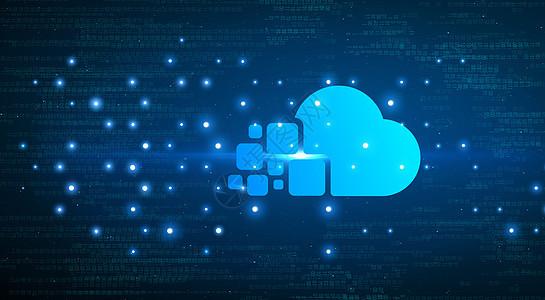 科技云背景图片