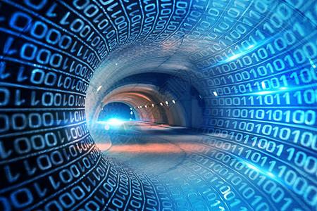 科技隧道图片