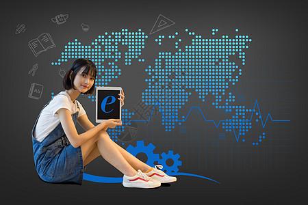 互联网在线教育图片