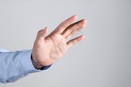 商务男士拒绝手势动作图片
