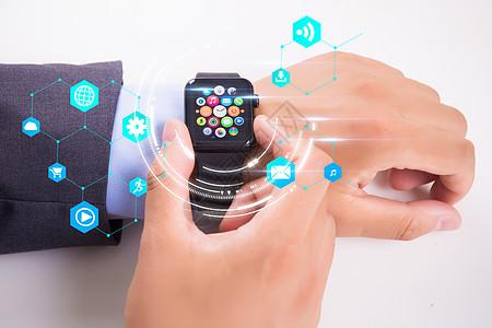 智能科技手表图片