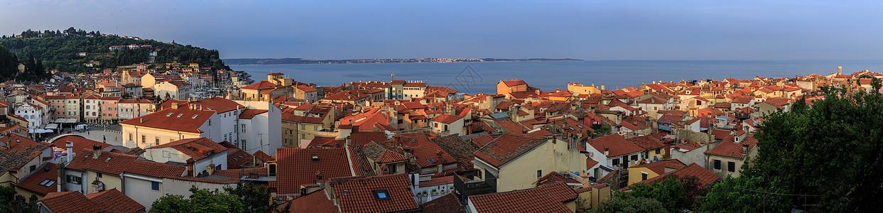欧洲旅游小镇全景图图片
