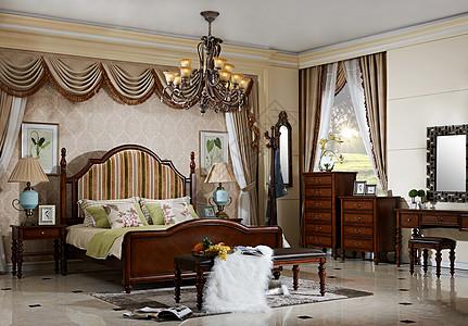 欧式风格卧室家居图片