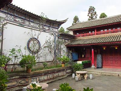 古代庭院图片