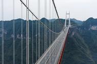 矮寨大桥悬索桥图片