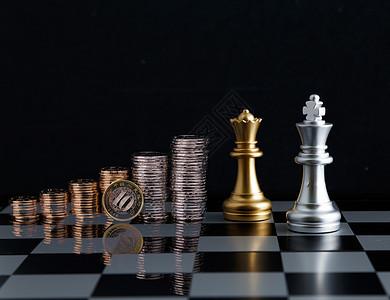 简洁大气国际象棋图片