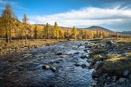 内蒙古草原秋色图片