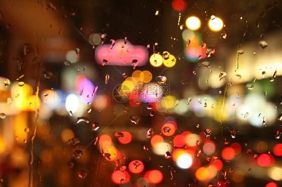 城市夜景光斑picture