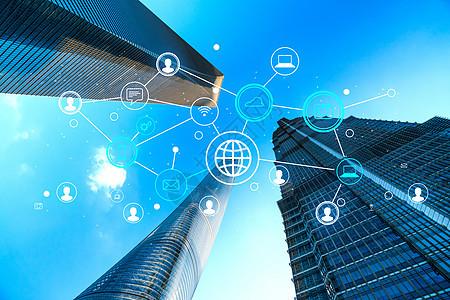 互联网信息科技城市图片
