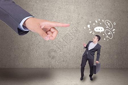 上级领导压力创意图片图片
