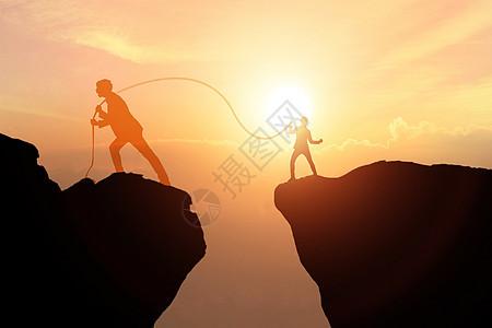团结合作 走向成功图片