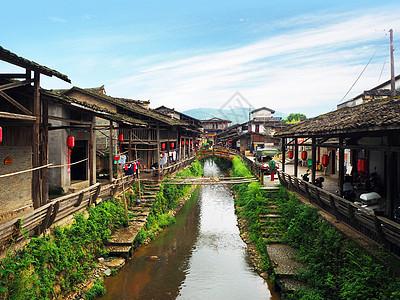 万里茶道起点——美丽的下梅村图片