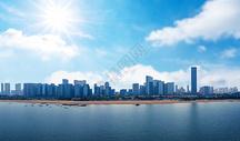 城市的风景图片