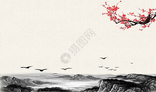 淡雅中国风 图片