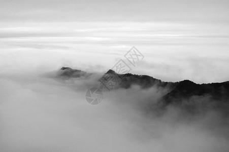 贵州铜仁梵净山水墨画风景照图片