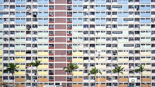 香港彩虹建筑图片