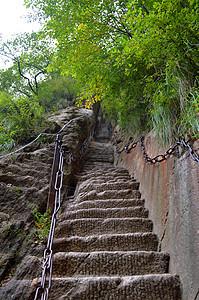 陕西西岳实拍自然风景照图片